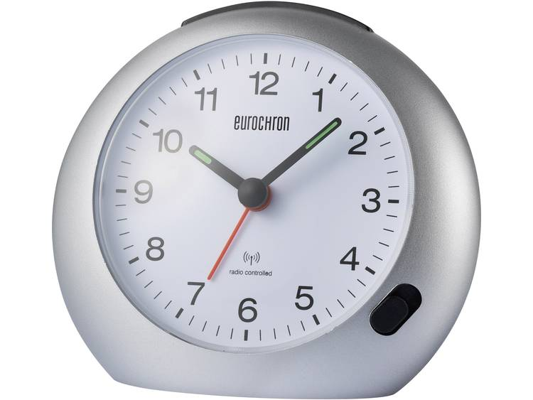 Wekker Zendergestuurd Grijs Alarmtijden: 1 Eurochron EFW 1500