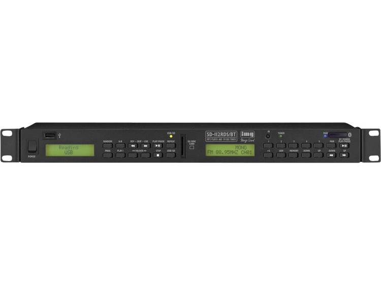 DJ media-player Monacor SD-112RDS-BT