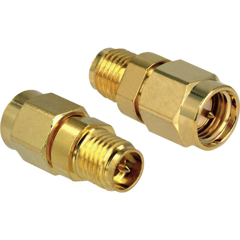 DeLOCK Adapter RP-SMA Jack > SMA Plug (88734)