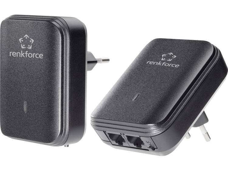 Renkforce PL500D duo Powerline starterkit 500 Mbit/s