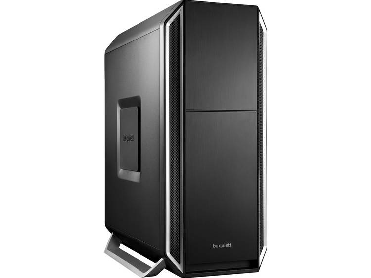 Midi-tower PC-behuizing, Gaming-behuizing BeQuiet Silent Base 800 Silver Zilver, Zwart