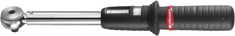 Image of Facom J.208-50 J.208-50 Momentsleutel met ratel 3/8 (10 mm) 10 - 50 Nm
