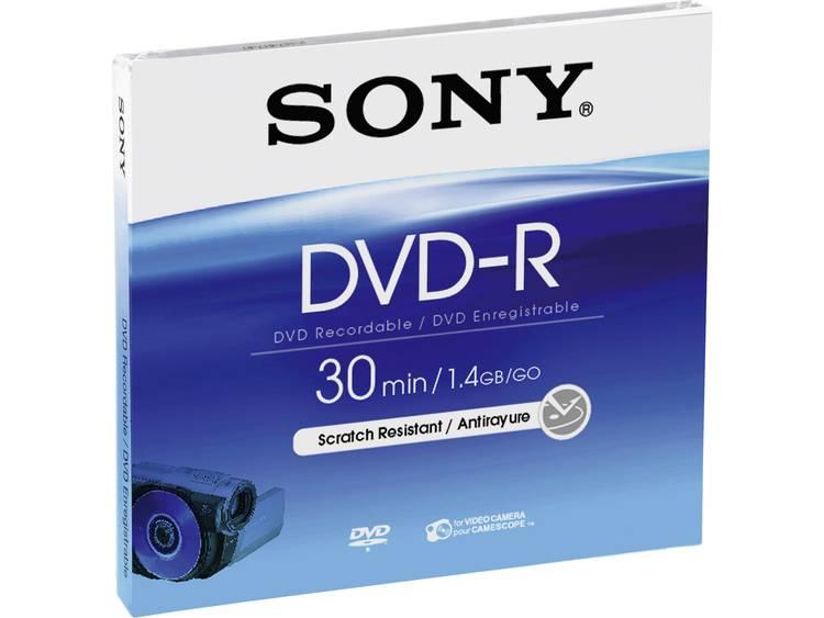 8 cm mini DVD-R disc 1.46 GB Sony DMR30A 5 stuks Jewelcase