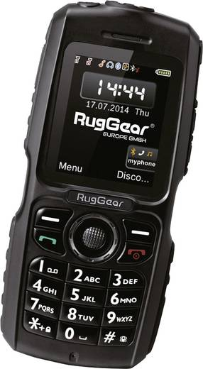 RugGear RG100 Outdoor telefoon Zwart