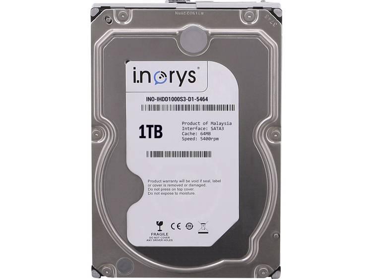 i.norys INO-IHDD1000S-D1 Harde schijf (3.5 inch) 1 TB Bulk SATA