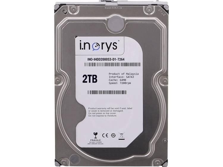 i.norys INO-IHDD2000S-D1 Harde schijf (3.5 inch) 2 TB Bulk SATA