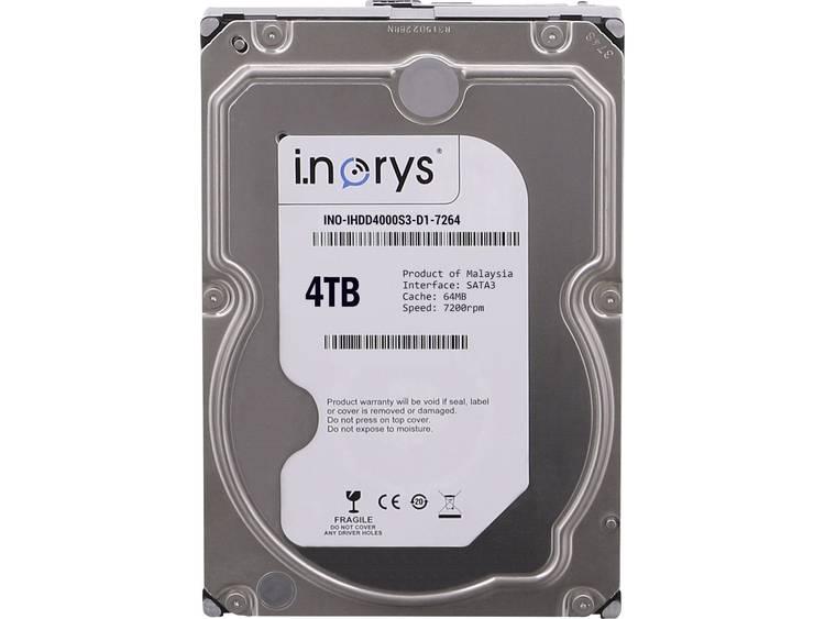 i.norys INO-IHDD4000S-D1 Harde schijf (3.5 inch) 4 TB Bulk SATA