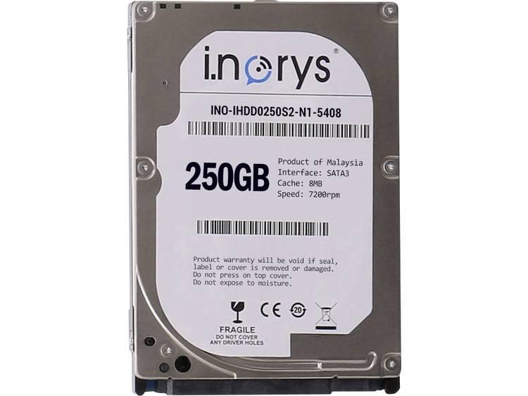 i.norys INO-IHDD0250S-N1 250 GB Harde schijf (2.5 inch) SATA