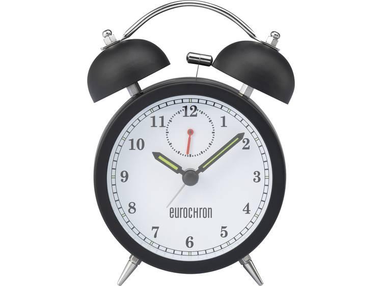 Wekker Quarz Zwart Alarmtijden: 1 Eurochron EQWG 50