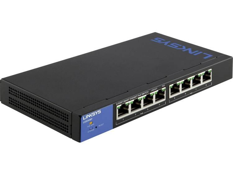 Linksys LGS308P-EU Netwerk switch RJ45 8 poorten 1 Gbit/s PoE-functie