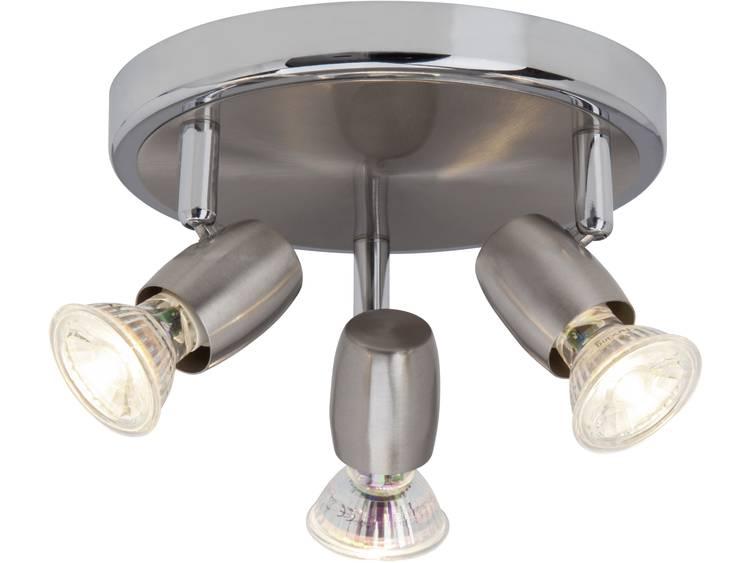 Plafondspot LED GU10 7.5 W Brilliant Wesley G54834-77 IJzer, Chroom
