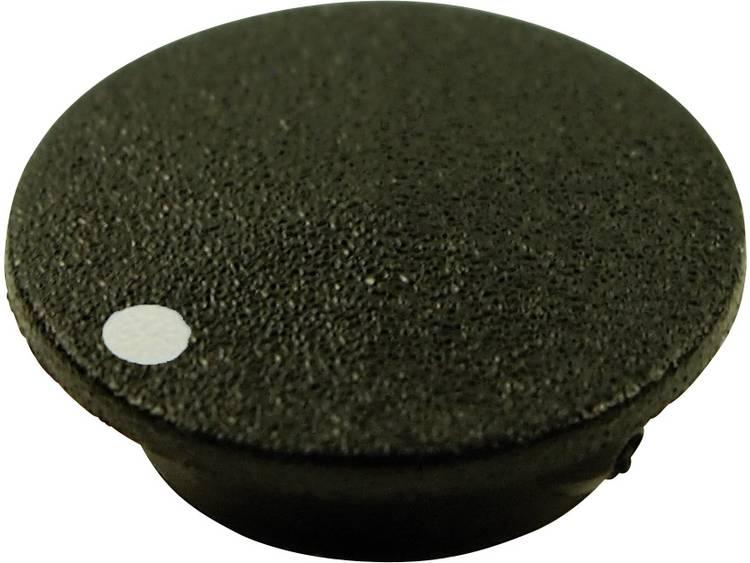 Afdekkap Met punt Zwart Geschikt voor Draaiknoppen K21 Cliff CL1745 1 stuks