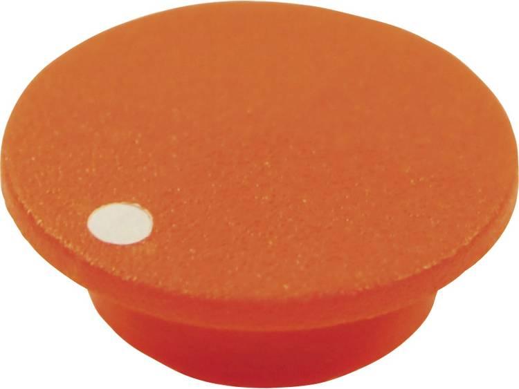 Afdekkap Met punt Oranje Geschikt voor Draaiknoppen K21 Cliff CL1761 1 stuks