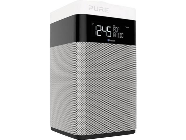 Pure Pop Midi Bluetooth® Tafelradio DAB+, FM Bluetooth Zwart, Wit