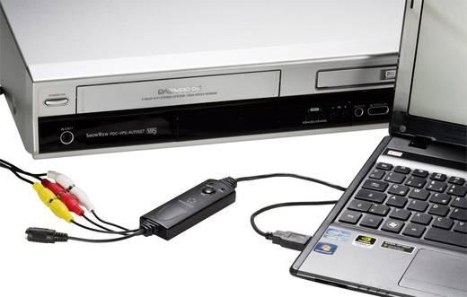 Renkforce GR1 USB 2.0 Video Grabber Incl. videobewerkingssoftware