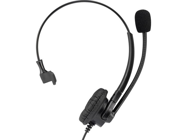 Basetech KJ-380M QD (Quick Disconnect) Telefoonheadset