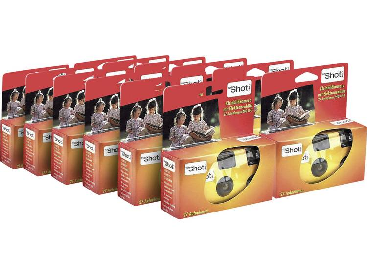 Topshot Flash-wegwerpcamera verpakking met 12 stuks