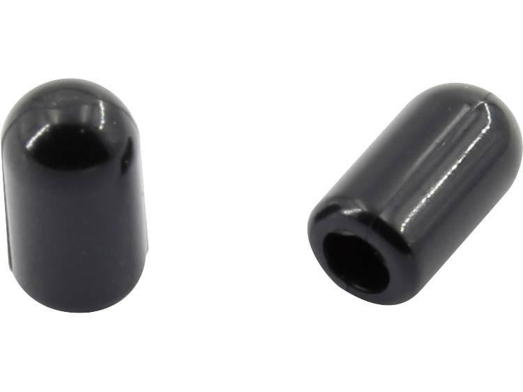 TRU COMPONENTS 1592742 Eindkap (niet krimpend) Nominale binnen-Ã (voor krimpen): 7.60 mm 100 stuks