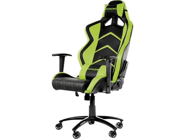AKRACING Player Gaming Chair Schwarz/Grün Gaming stoel Zwart, Groen