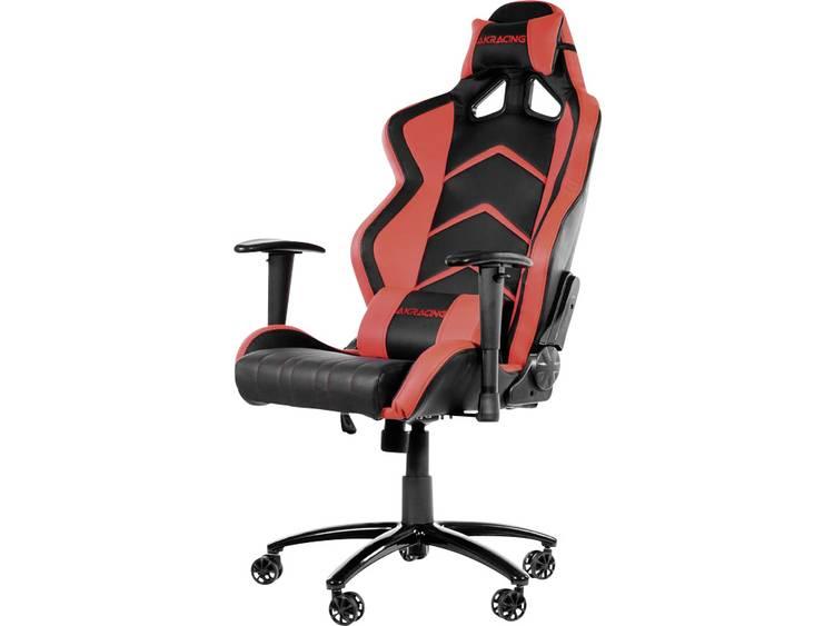 AKRACING Player Gaming Chair Schwarz/Rot Gaming stoel Zwart, Rood
