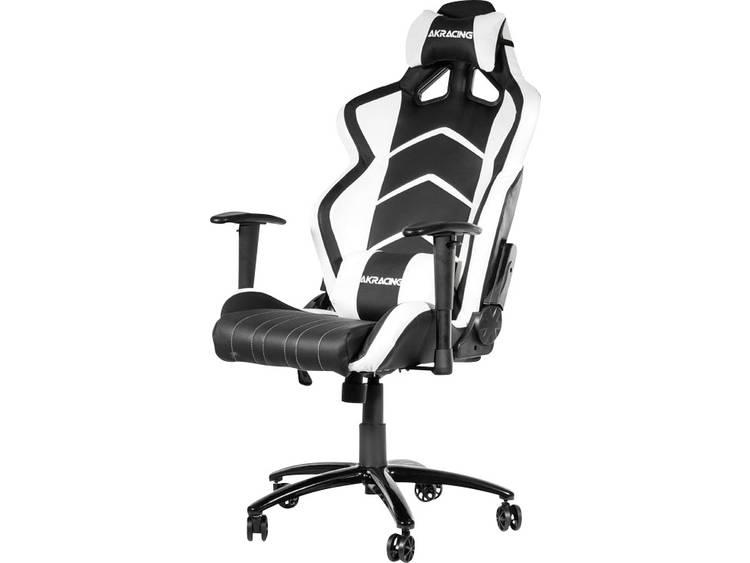 AKRACING Player Gaming Chair Schwarz/Weià Gaming stoel Zwart, Wit