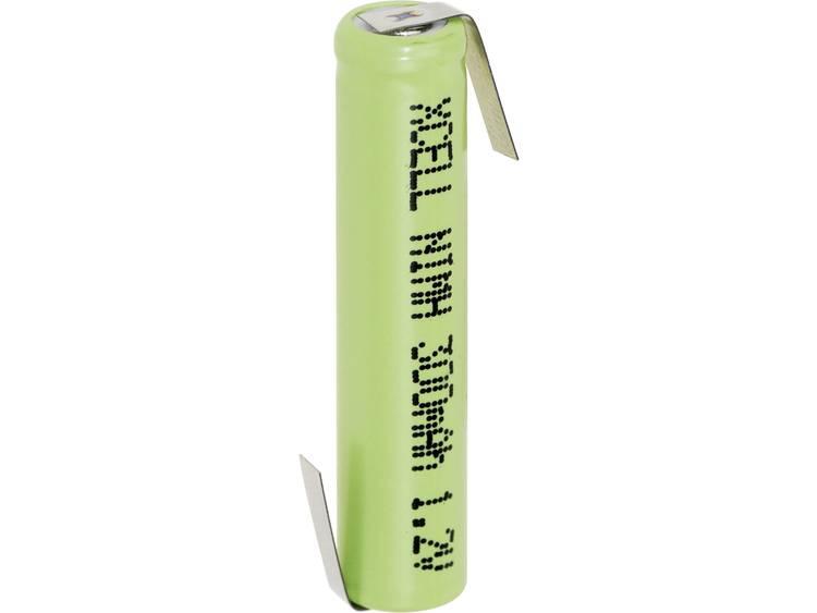 XCell AAAA-ZLF Speciale oplaadbare batterij AAAA (mini) Z-soldeerlip NiMH 1.2 V 300 mAh