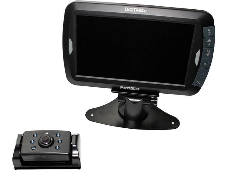 ProUser Draadloos achteruitrijcamera systeem DRC7010 Vaste montage, Clipmontage