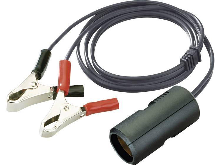 ProCar 67884001 Koppelingskabel 8 A krokodilklemmen Stroombelasting (max.) 8 A Geschikt voor Sigarettenaansteker