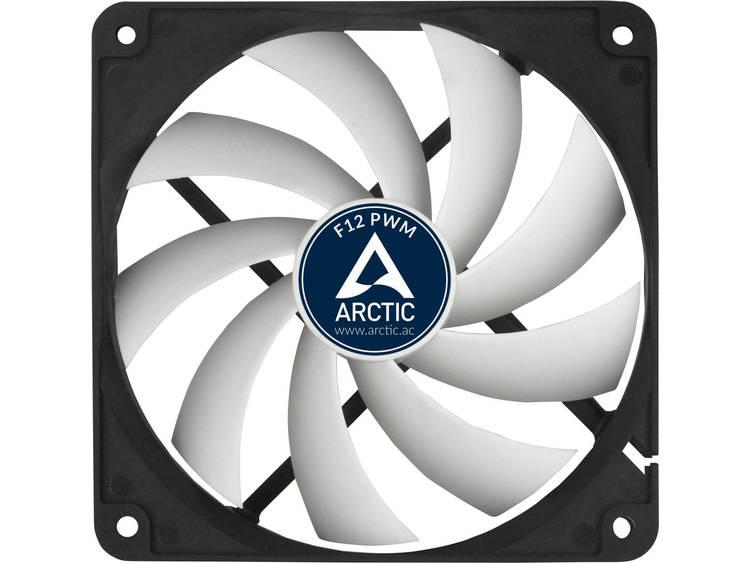PC ventilator Arctic F12 PWM Rev. 2.0 Zwart (b x h x d) 120 x 120 x 25 mm