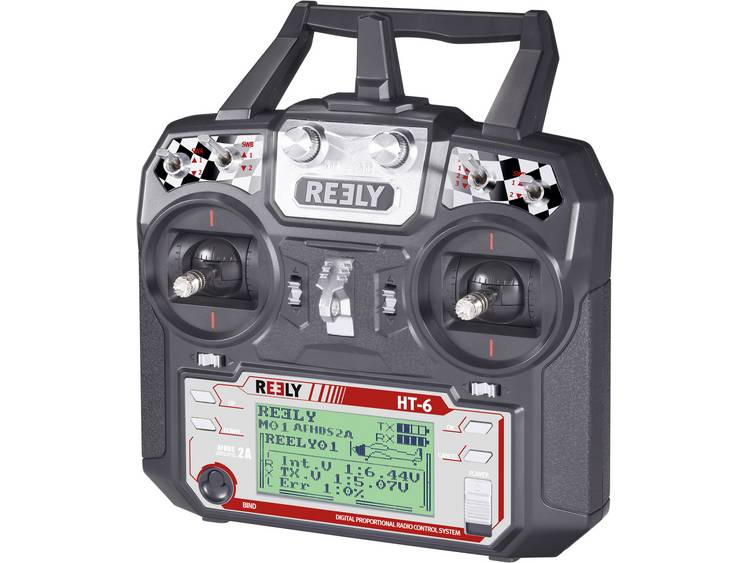 Reely HT-6 RC handzender 2.4 GHz Aantal kanalen: 6