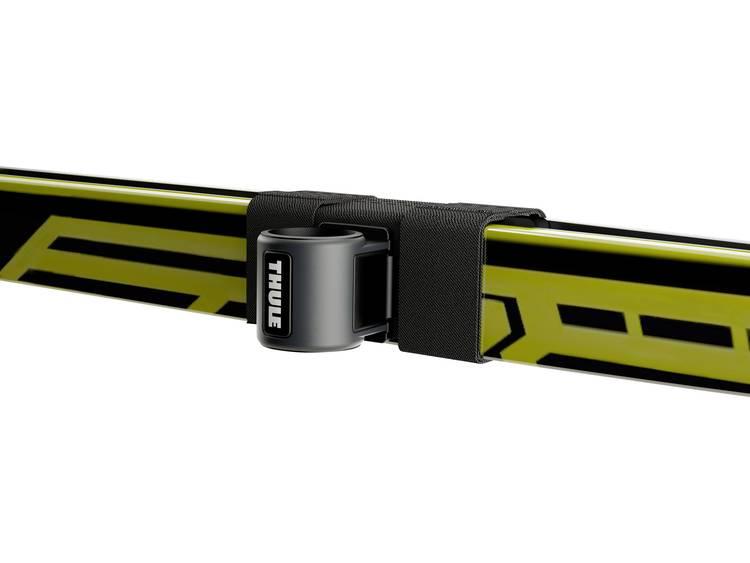 Thule SkiClick 7291 Skidrager (opzet) (l x b x h) 25.6 x 18.2 x 7.7 cm Geschikt voor WingBar, Geschikt voor vierkante rail, Geschikt voor SlideBar