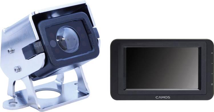 Camos SV-420 Superview Kabelgebonden achteruitrijcamera systeem Extra IR-verlichting. Geïntegreerde microfoon. Automatische witbalans. Geïntegreerde verwarming