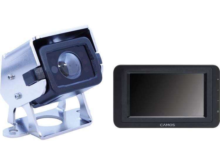 Camos SV 420 Superview Kabelgebonden achteruitrijcamera systeem Extra IR verlichting, Geïntegreerde microfoon, Automatische witbalans, Geïntegreerde verwarming