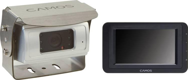 Camos SV-430 Superview Kabelgebonden achteruitrijcamera systeem Extra IR-verlichting. Geïntegreerde microfoon. Automatische witbalans. Geïntegreerde verwarming