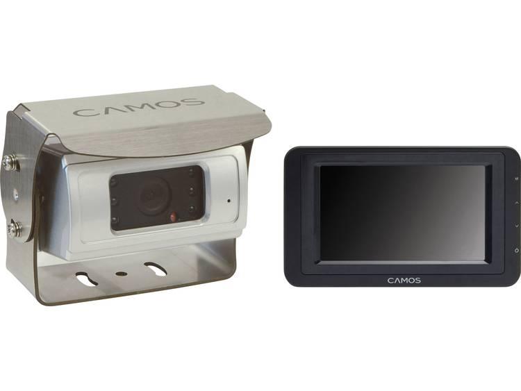 Camos SV 430 Superview Kabelgebonden achteruitrijcamera systeem Extra IR verlichting, Geïntegreerde microfoon, Automatische witbalans, Geïntegreerde verwarming