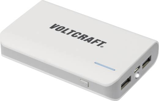 VOLTCRAFT 7800 mAh Powerbank 2 USB-poort(en) PB-16