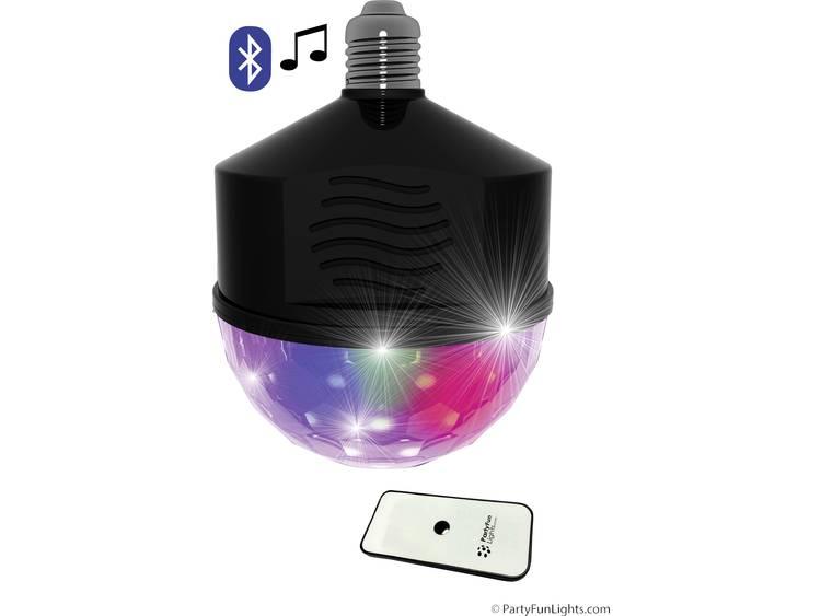 Bluetooth LED Discobol speaker met afstandsbediening