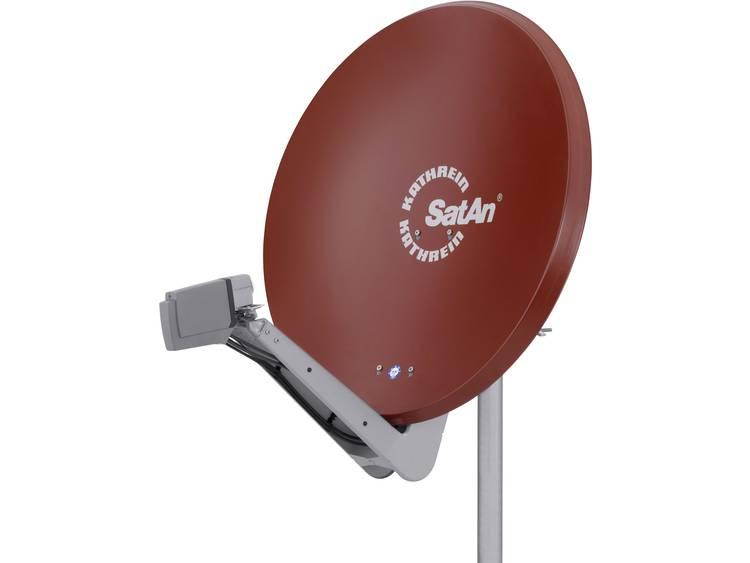 Kathrein CAS 90ro Satellietschotel 90 cm Reflectormateriaal: Aluminium Rood-bruin