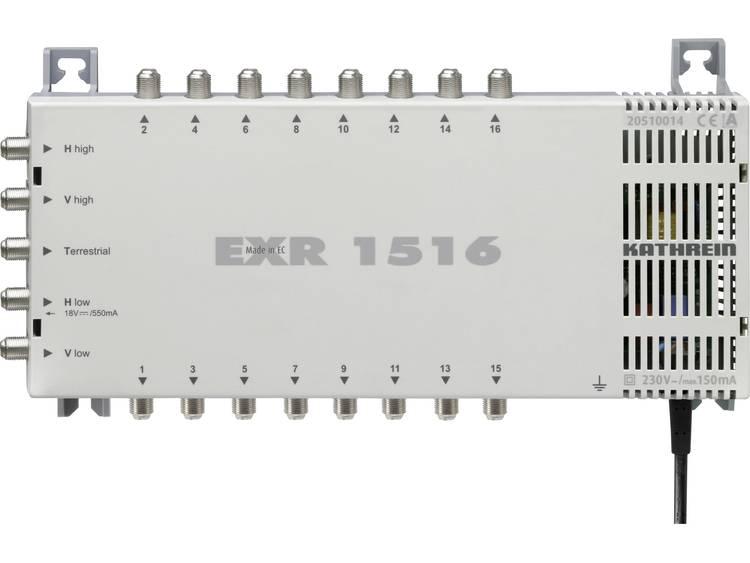 Kathrein EXR 1516 Satelliet multiswitch Ingangen (satelliet): 5 (4 satelliet / 1 terrestrisch) Aantal gebruikers: 16