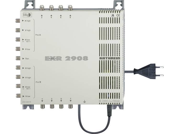 Kathrein EXR 2908 Satelliet multiswitch Ingangen (satelliet): 9 (8 satelliet / 1 terrestrisch) Aantal gebruikers: 8