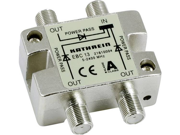 Kathrein EBC 13 SAT-verdeler 3-voudig 5 - 2400 MHz