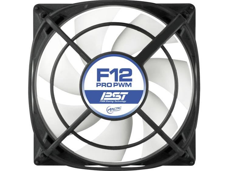 PC ventilator Arctic F12 PRO PWM Zwart (b x h x d) 120 x 120 x 38.5 mm