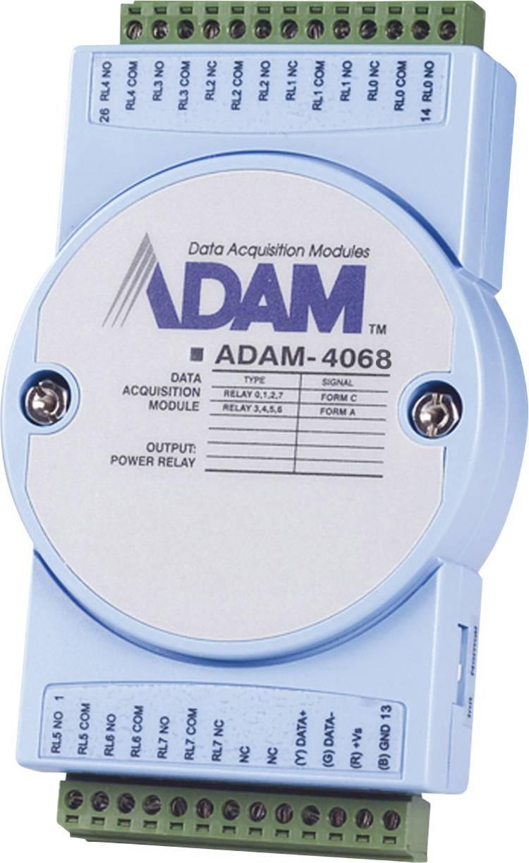Advantech ADAM-4068 Uitgangsmodule DI/O, Relais Aantal uitgangen: 8 x 12 V/DC, 24 V/DC