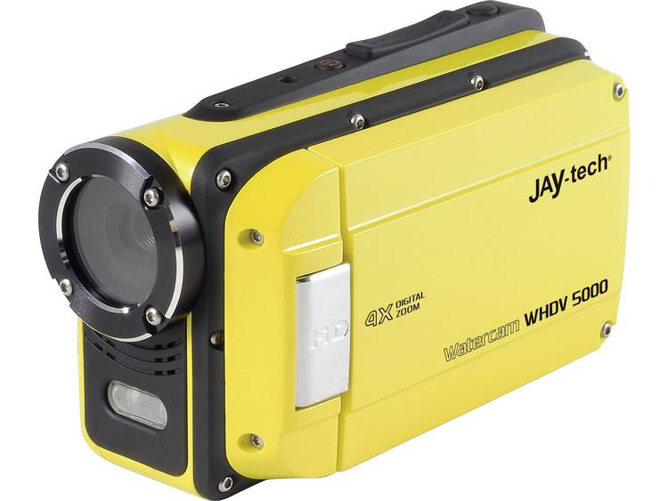 JayTech WHDV-5000 Camcorder 6.9 cm 2.7 inch 12 Mpix Geel