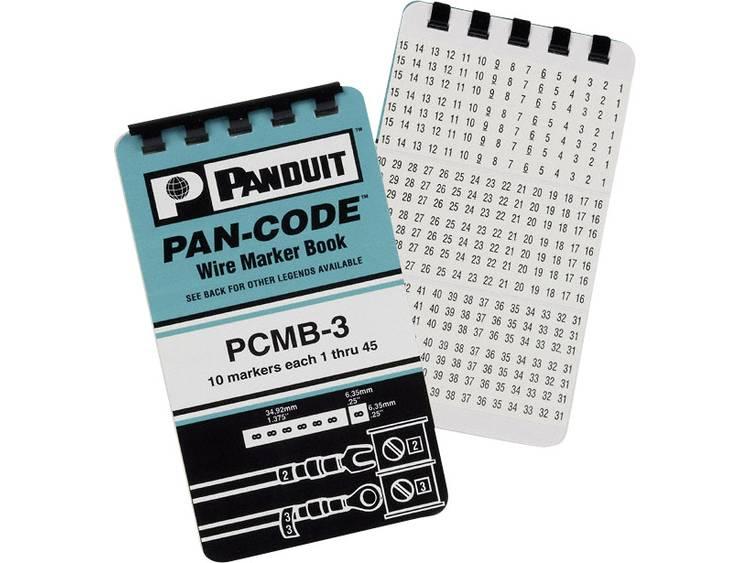 Panduit PCMB-5 PCMB-5 Markeer-plakset Opdruk A , B , C , + , -
