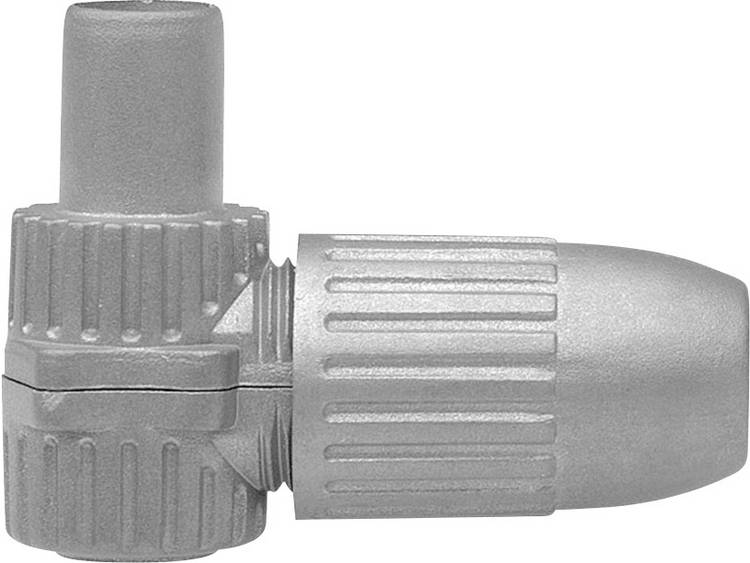 Axing CKS 4-00 Koax-IEC-winkelstekker Kabeldiameter: 6.8 mm