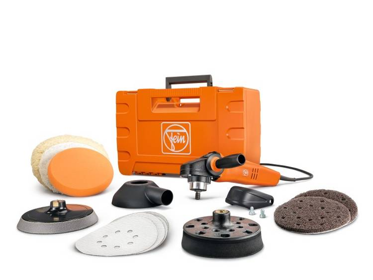 Image of Excentrische polijstmachine 230 V 1200 W Fein 72214850010 WPO 14-15 E 500 - 1500 omw/min 230 mm