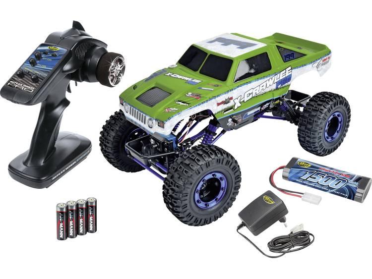 Carson Crawlee Brushed 1:10 RC auto Elektro Crawler 4WD 100% RTR 2.4 GHz