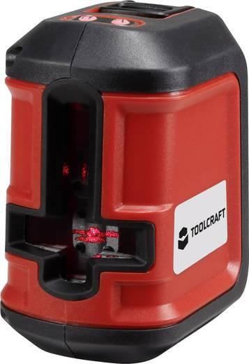 TOOLCRAFT CL8 Kruislijnlaser Incl. statief, Zelfnivellerend Reikwijdte (max.): 8 m Kalibratie mogelijk: Zonder certific