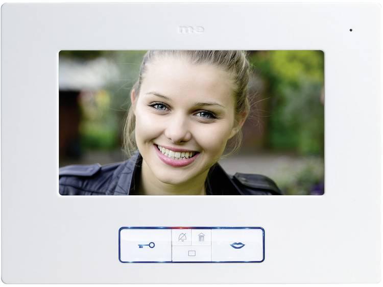 m-e modern-electronics VDB-70 Video-deurintercom Kabelgebonden Binnenunit voor Wit